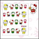 Disney label Hello Kitty