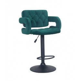 Barová stolička Melisa Mat Velur Green