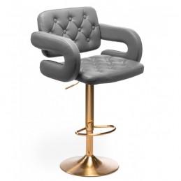 Barová stolička Melisa Gold Silver