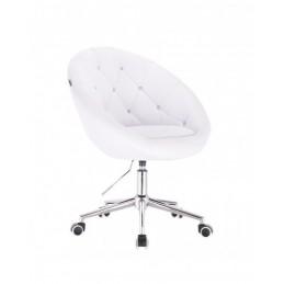 Kreslo Elegance White Krystal Kreslá, stoličky