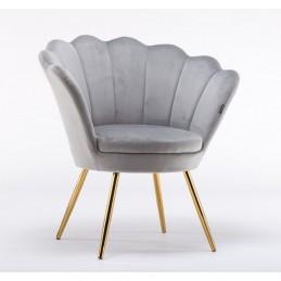 Kreslo Serena Velur Silver Stoličky, lavičky do čakárne