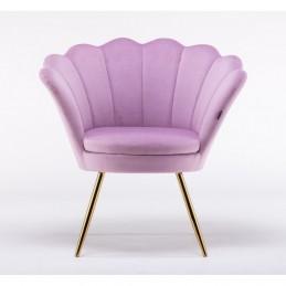 Kreslo Serena Velur Fiolet Stoličky, lavičky do čakárne