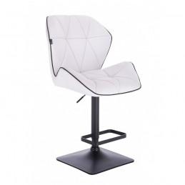 Barová stolička Altera White