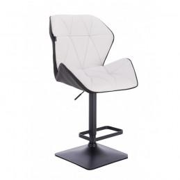 Barová stolička Altera White and Black