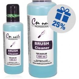 CN nails čistič štetcov 100ml + 25% zdarma