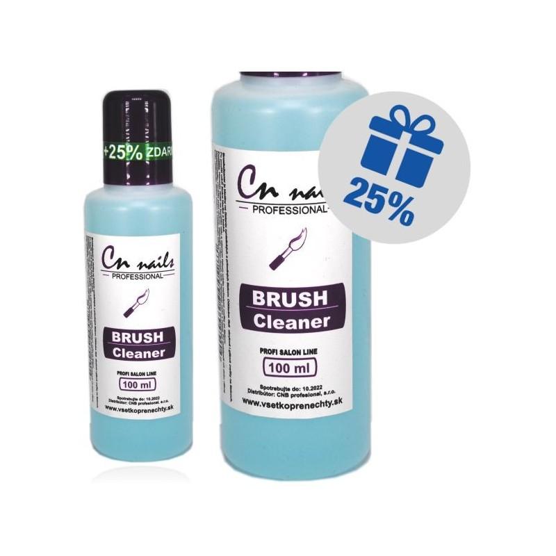 CN nails čistič štetcov 100ml + 25% zdarma CN nails Dezinfekcie, čističe, odstraňovače
