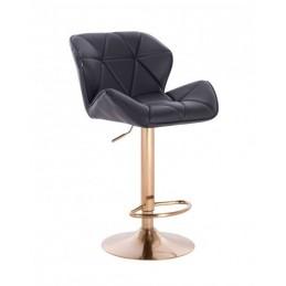 Barová stolička Detail Black Gold