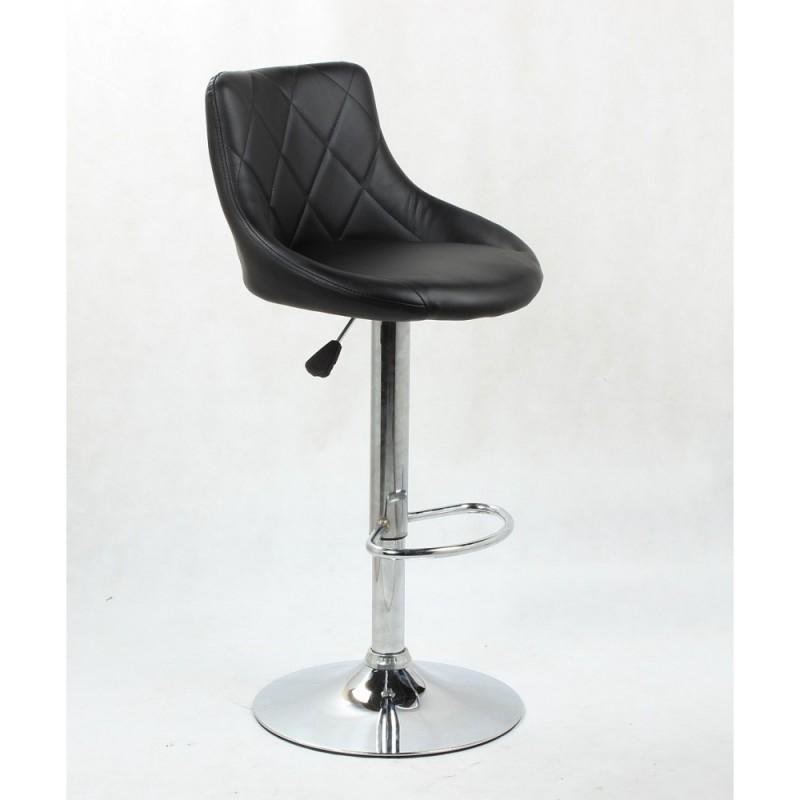 Barová stolička Apolo Black Barové stoličky