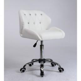 Kozmetická stolička Vanesa White