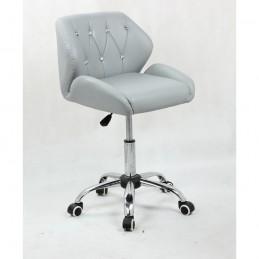 Kozmetická stolička Vanesa Silver