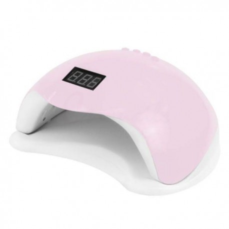 Led lampa na nechty 48W Pink Lampy na gelove nechty
