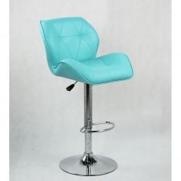 Barová stolička Detail Tyrkys