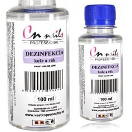 Dezinfekcia na ruky 100ml Dezinfekcie, čističe, odstraňovače