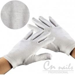 Bavlnené rukavice 1 pár Sady na gelove nechty