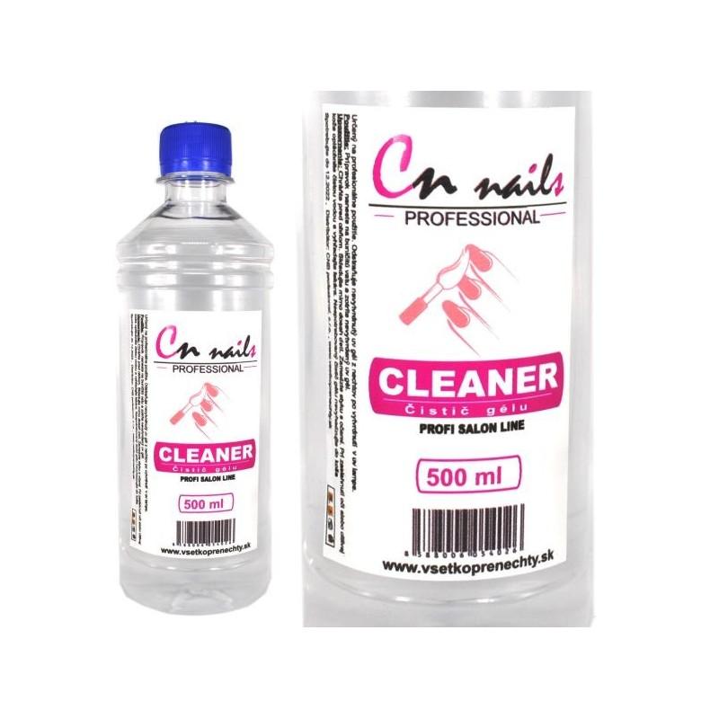 Cleaner - čistič gélu na nechty 500 ml CN nails Kategórie