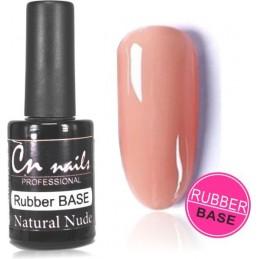 Rubber base Natural Nude 10ml IQ gél 2v1 Color gél + Gél lak