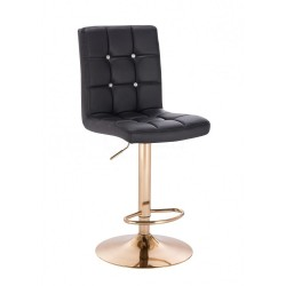 Barová stolička Ewita Gold Black