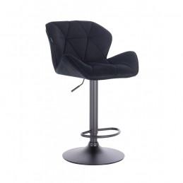 Barová stolička Detail Velur Black Mat Kategórie