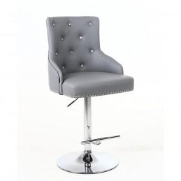 Barová stolička Marina Crystal Silver
