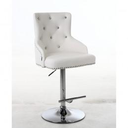 Barová stolička Marina Crystal White
