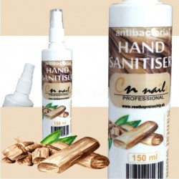 Dezinfekcia na ruky santálove drevo