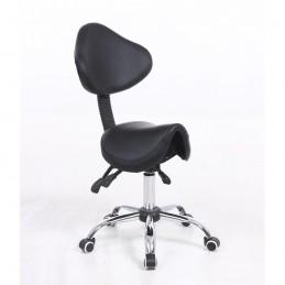 Kozmetická stolička Sedlo Black