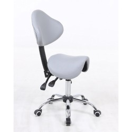 Kozmetická stolička Sedlo Silver