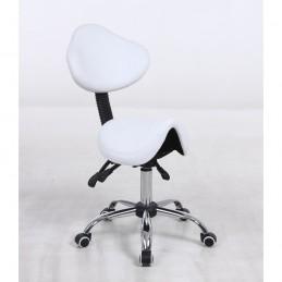 Kozmetická stolička Sedlo White