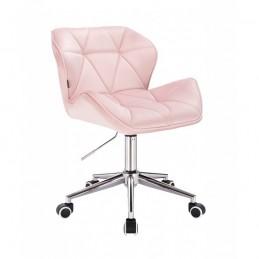 Kozmetická stolička Detail Velur Pudrova