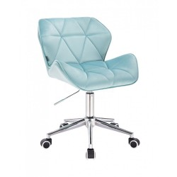Kozmetická stolička Detail Velur Lazurova