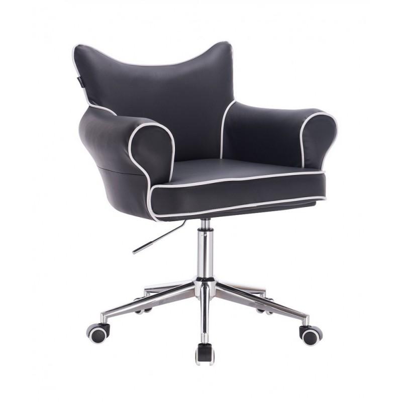Stolička Agáta Black Kreslá, stoličky
