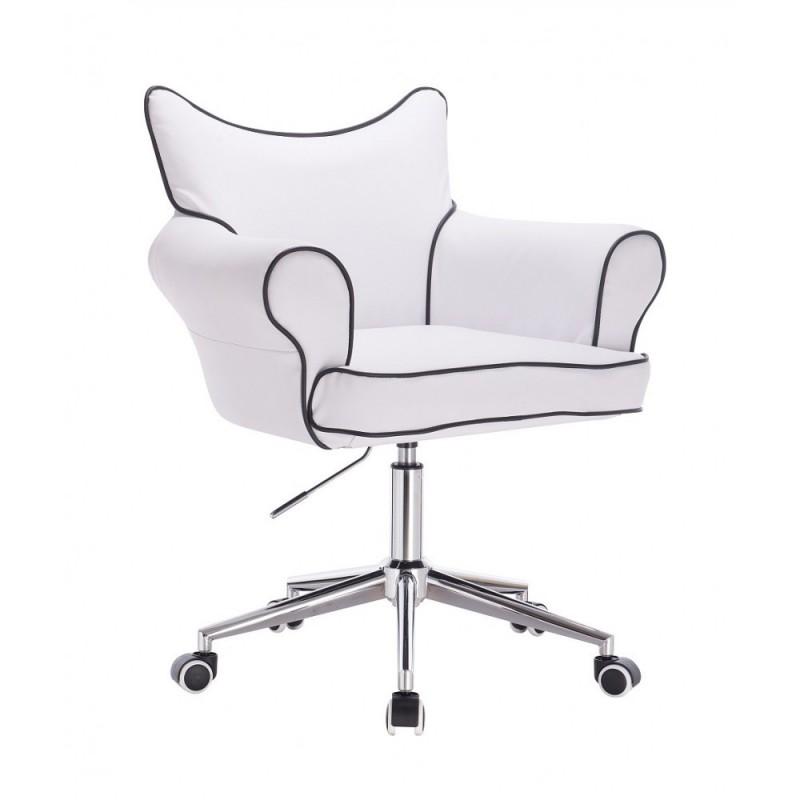 Stolička Agáta White Kreslá, stoličky