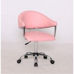 Kozmetická stolička Renáta Pink Kreslá, stoličky