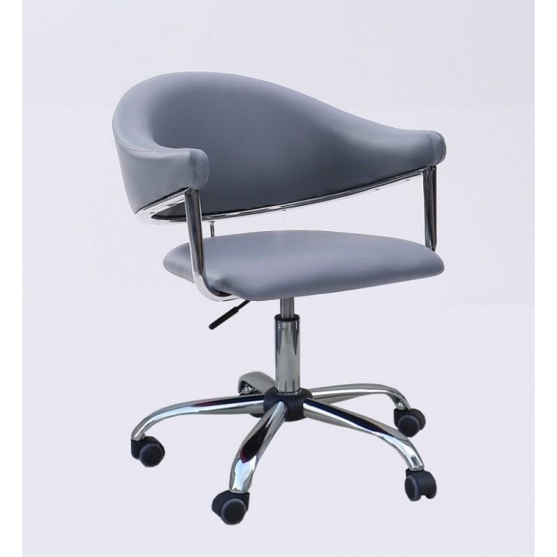 Kozmetická stolička Renáta Silver Kreslá, stoličky