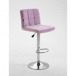 Barová stolička Agáta Pink Barové stoličky