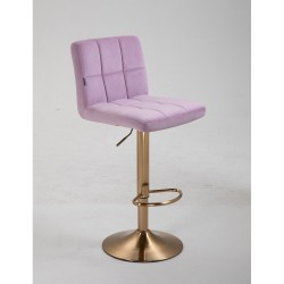 Barová stolička Agáta Gold Pink Barové stoličky