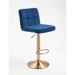 Barová stolička Agáta Gold Čierne more Barové stoličky
