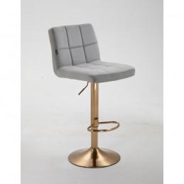 Barová stolička Agáta Gold Silver Barové stoličky