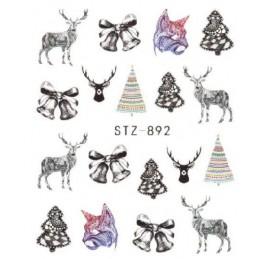 STZ 892 Vianočné nálepky Esmara Kategórie