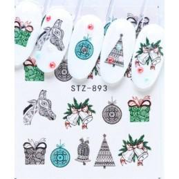 STZ 893 Vianočné nálepky Esmara Kategórie