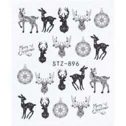 STZ 896 Vianočné nálepky Esmara