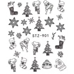 STZ 901 Vianočné nálepky Esmara Vianočné nálepky