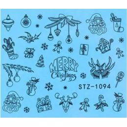 STZ 1094 Vianočné nálepky Esmara