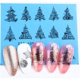 STZ 1091 Vianočné nálepky Esmara