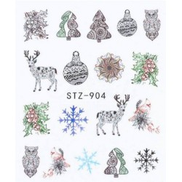 STZ 904 Vianočné nálepky Esmara Zimné ozdoby