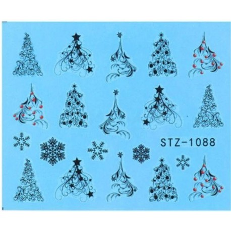 STZ 1088 Vianočné nálepky Esmara Zimné ozdoby