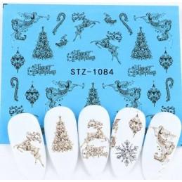 STZ 1084 Vianočné nálepky Esmara