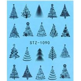 STZ 1090 Vianočné nálepky Esmara