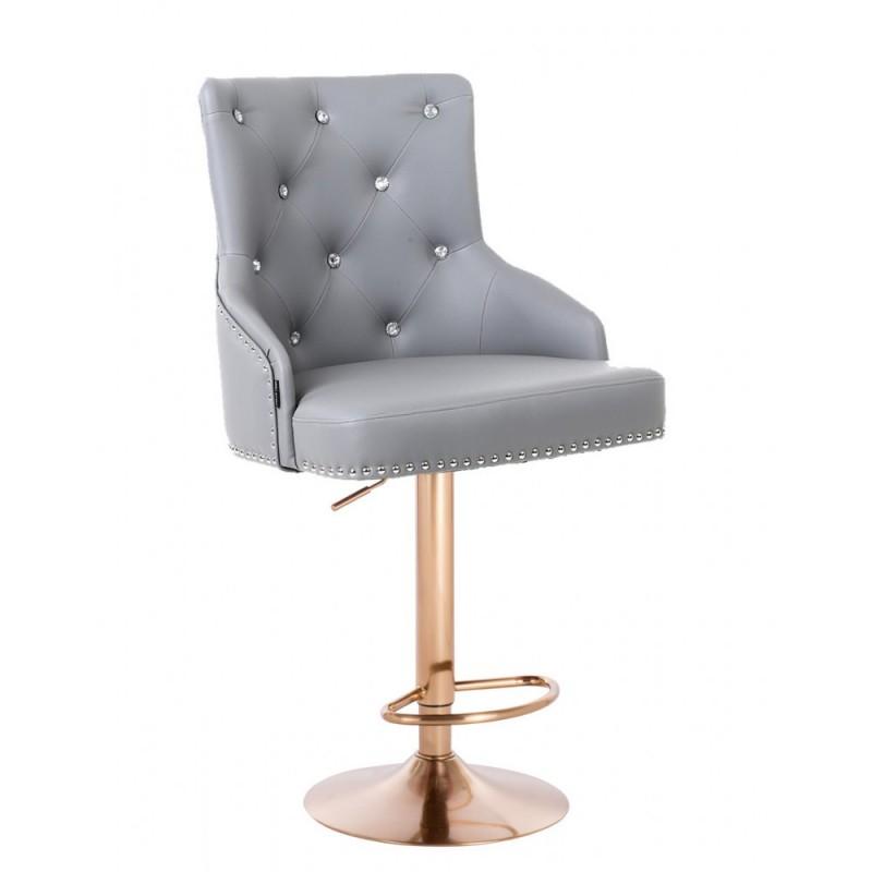 Barová stolička Marina Gold Crystal Silver