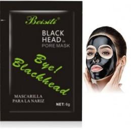 Čierna maska na čierne botky na tvári